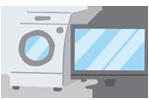 遺品整理・生前整理のバグジー 電化製品